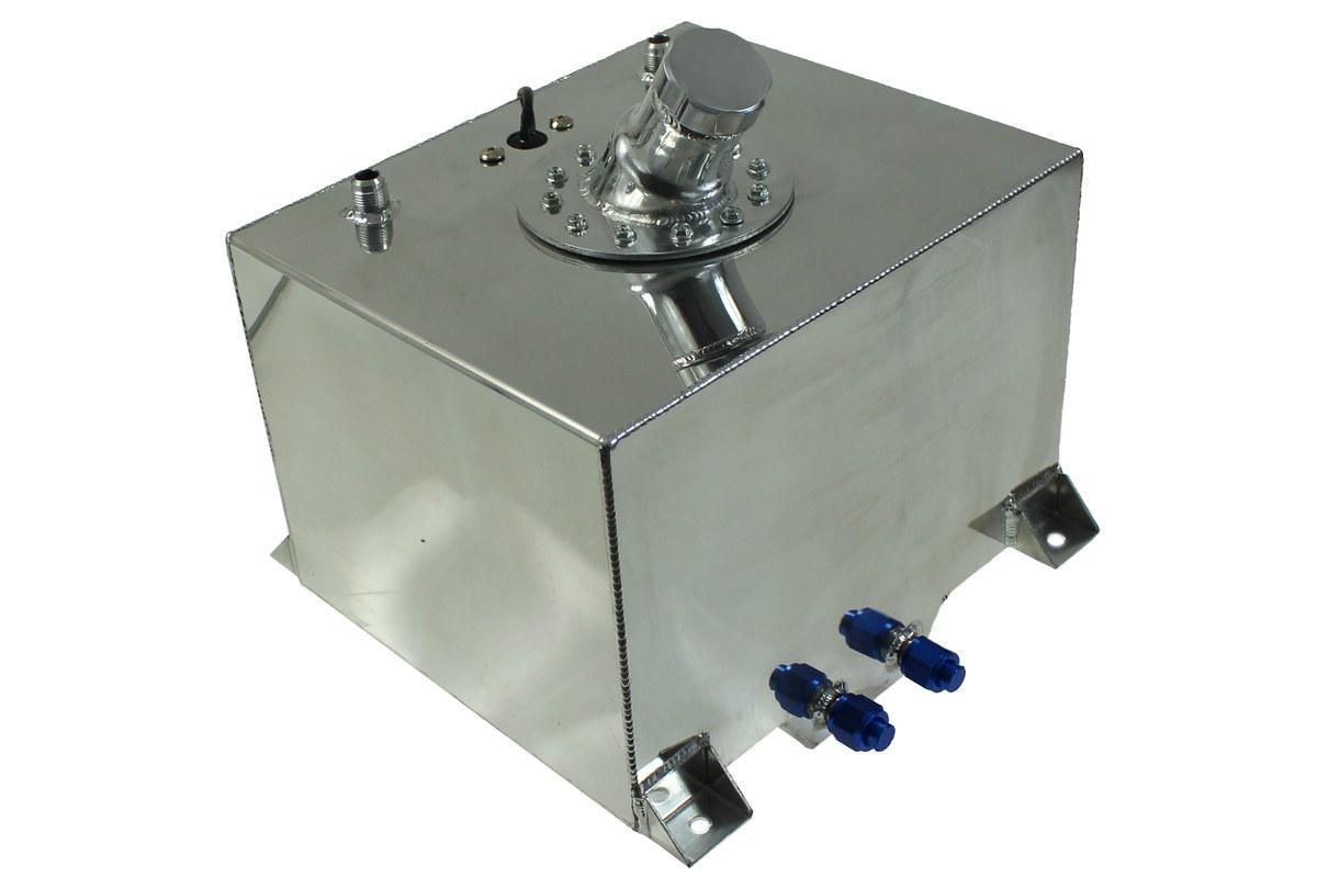 Zbiornik Paliwa TurboWorks 30L z wlewem paliwa i czujnikiem - GRUBYGARAGE - Sklep Tuningowy